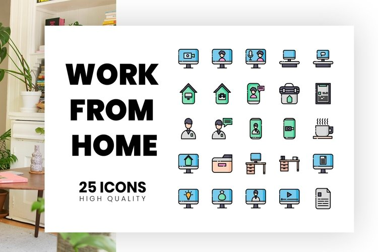 work from home Line Color example image 1