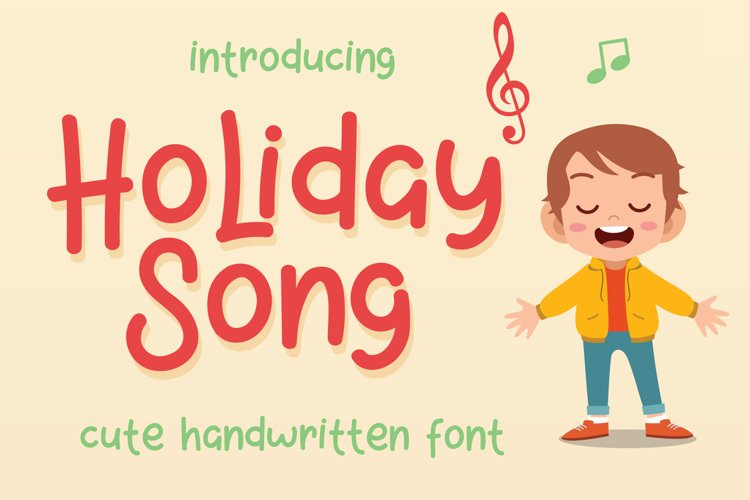 Holiday Song example image 1