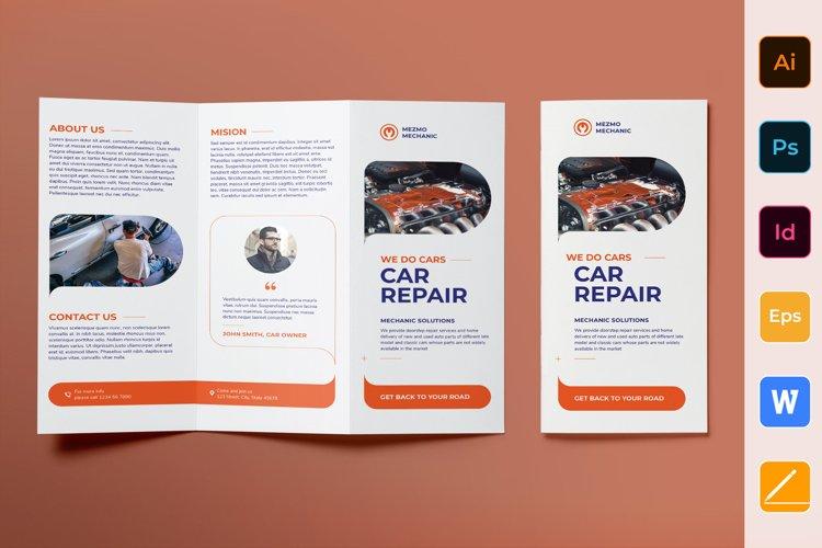 Car Repair Brochure Trifold example image 1