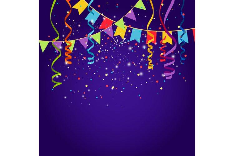 Celebration purple background example image 1