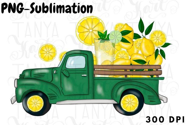 Lemonade Truck   Summer Sublimation