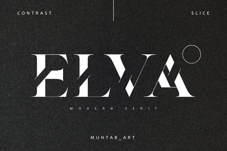 Elva | Modern Serif example image 1