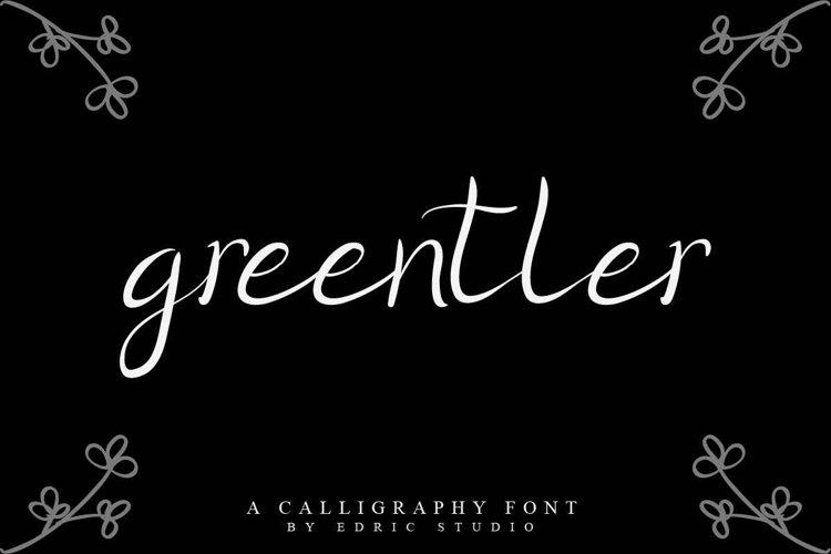 Greentler example image 1