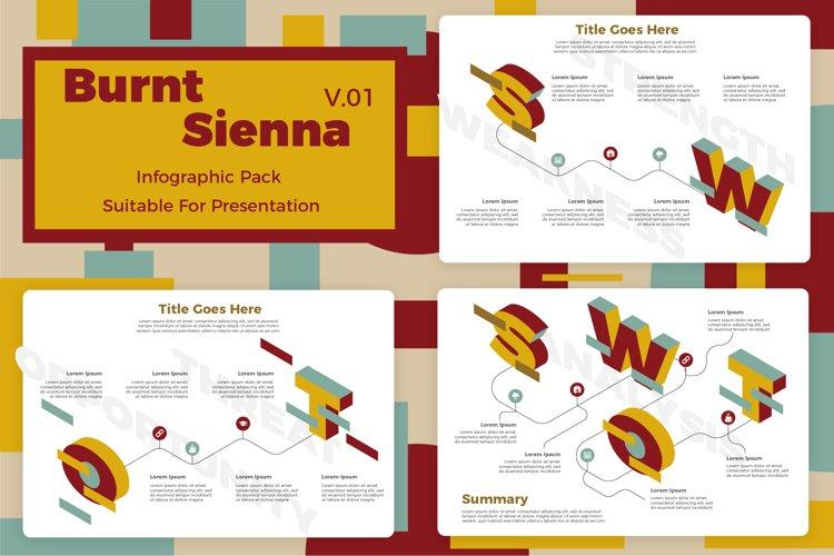 Burnt Sienna v1 - Infographic example image 1
