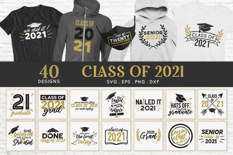 Class of 2021 svg bundle - Senior 2021 Graduation 2021 svg