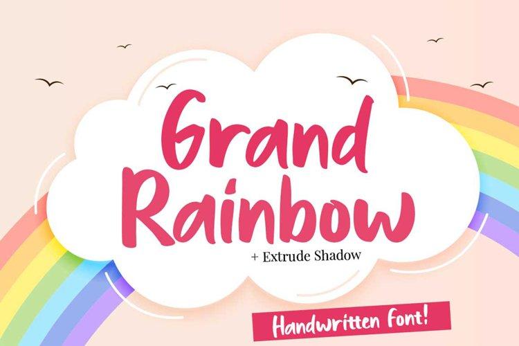 Grand Rainbow Extrude Shadow