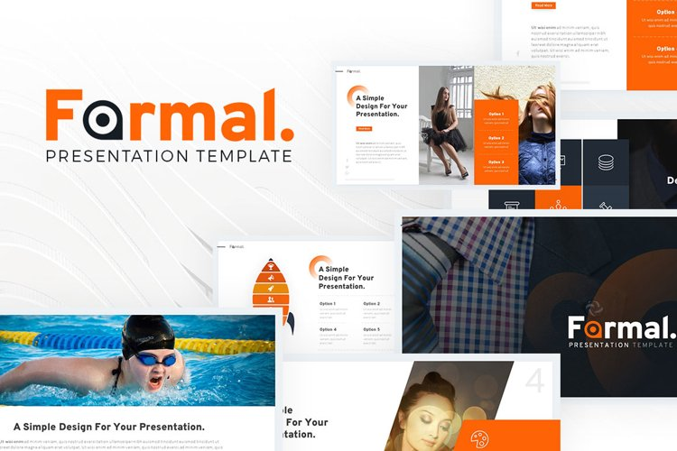 Formal - Business Presentation example image 1