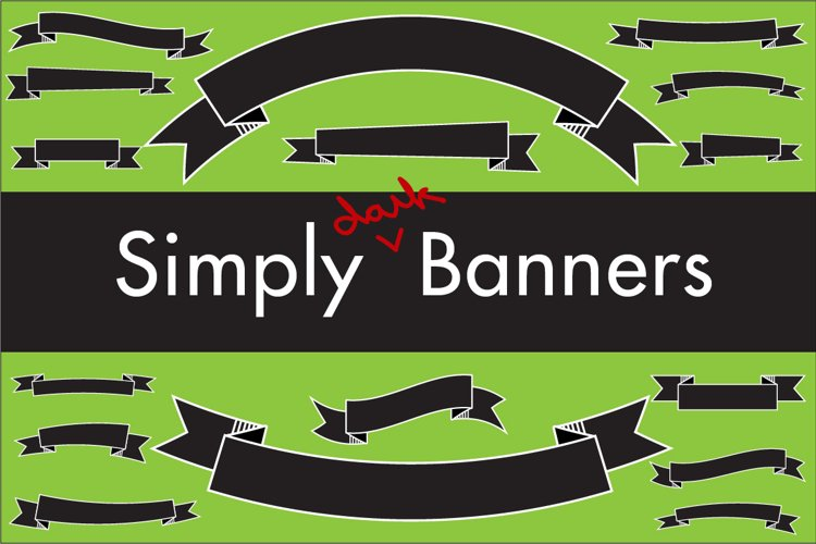 112 Dark Banners example image 1