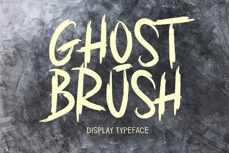 GHOST BRUSH example image 1