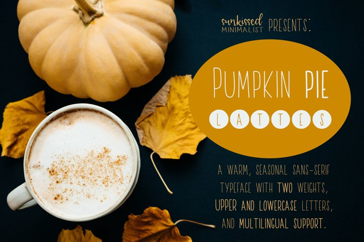Pumpkin Pie Lattes example image 1
