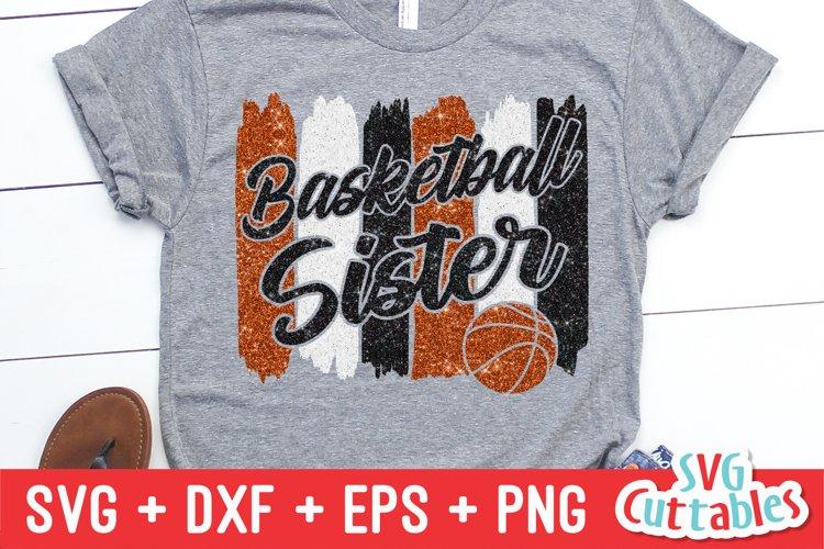 Basketball SVG | Basketball Sister SVG | Shirt Design