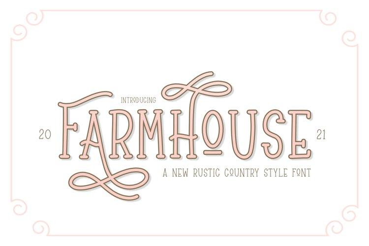 Farmhouse Font example image 1