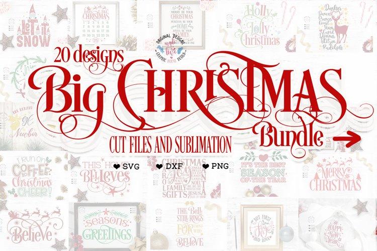 Big Christmas Bundle - 20 Christmas Designs example image 1