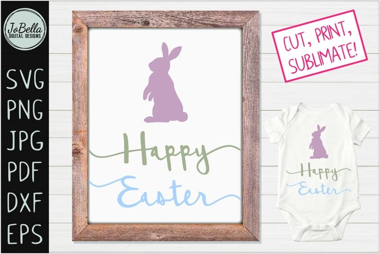 Farmhouse Easter SVG, Sublimation PNG and Printable