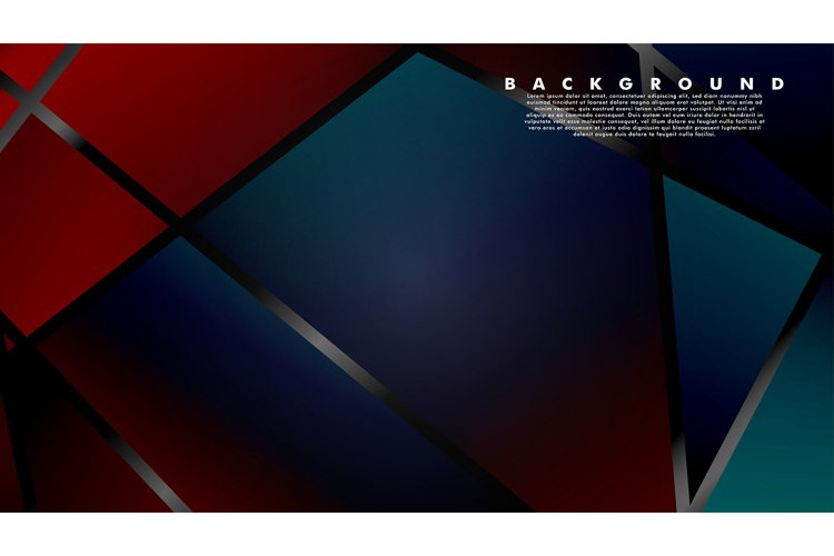 Abstract fancy polygon background patterns. vector design