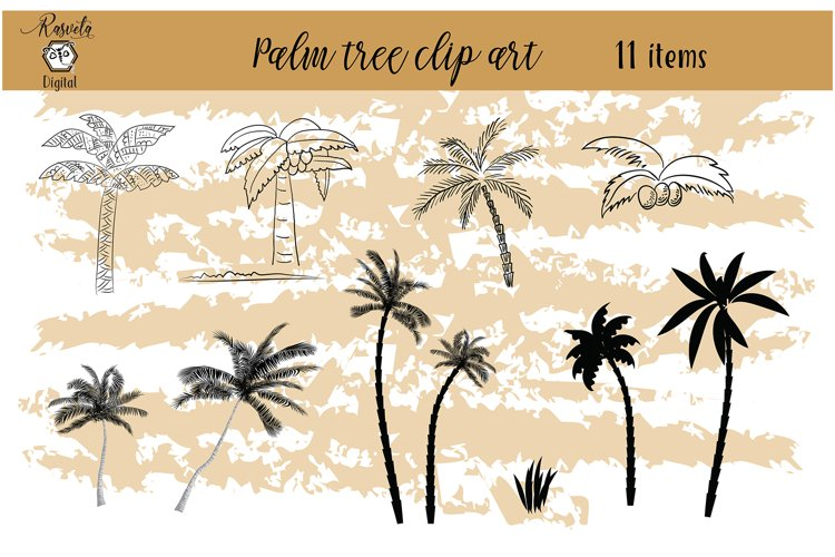 Tropical Exotic collection Palm tree example image 1