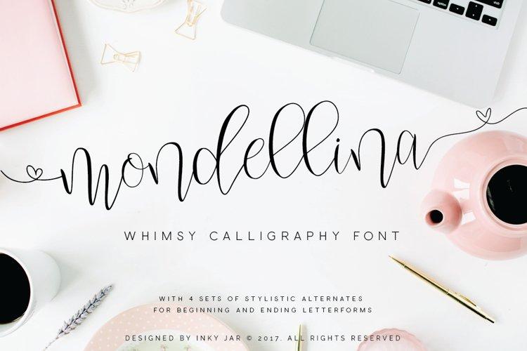 Mondellina Script