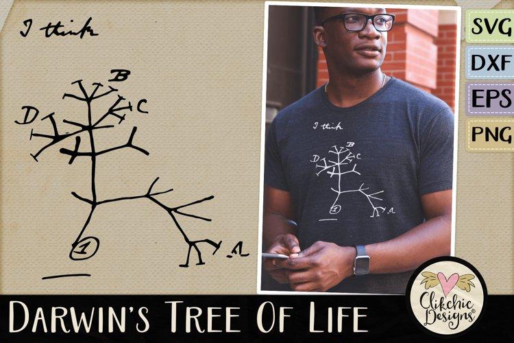Darwins Evolutionary Tree of Life SVG Cutting File