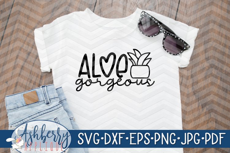 Aloe Gorgeous SVG/DXF Cut File