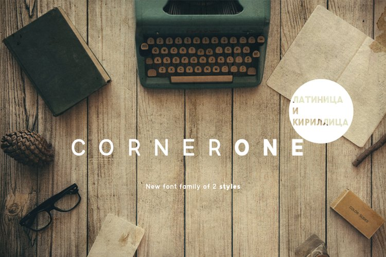 CornerOneTypeface