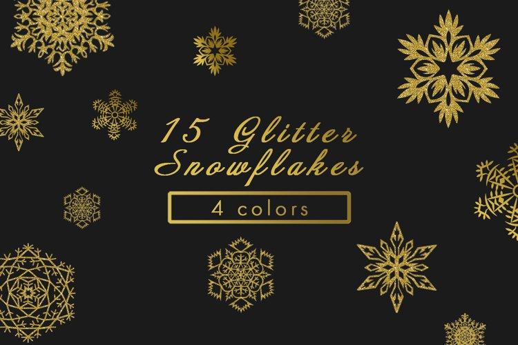 Glitter Snowflake