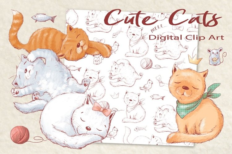 Cute Cats example image 1