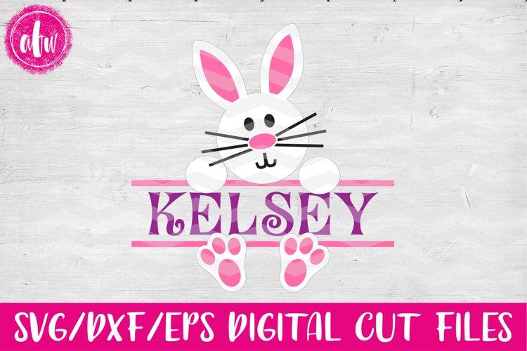 Split Bunny - SVG, DXF, EPS Cut File