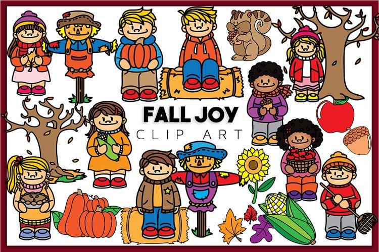 Fall Joy Clip art