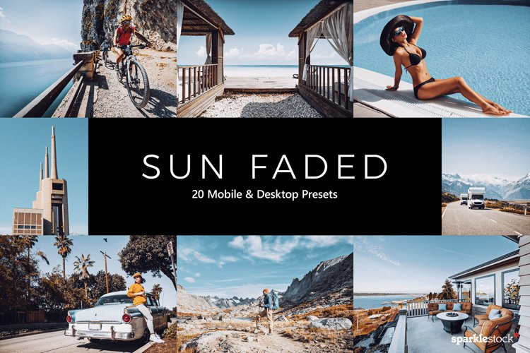 20 Sun Faded Lightroom Presets and LUTs example image 1