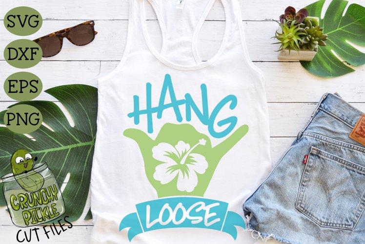 Hang Loose Shaka SVG example image 1
