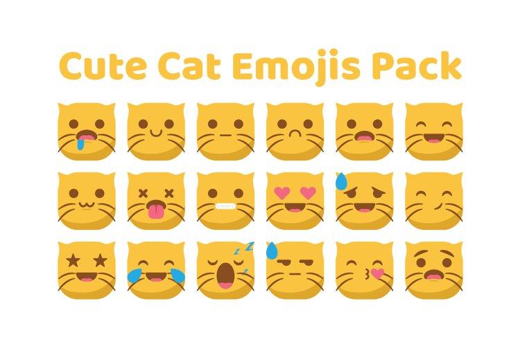 Cute Cat Emojis example image 1