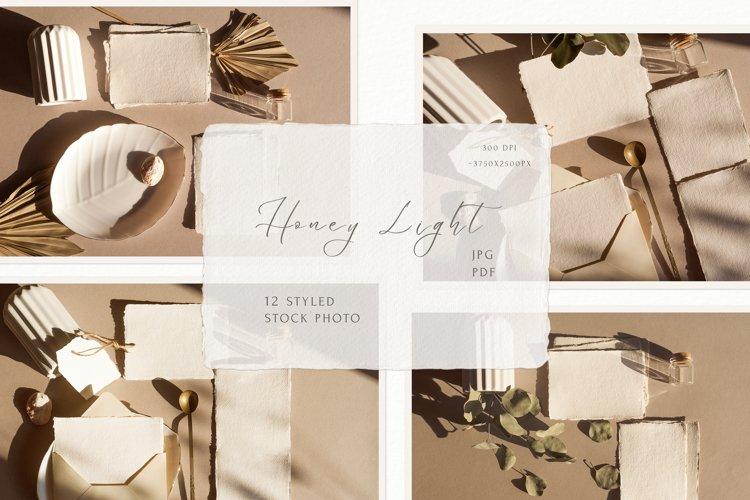 Honey Light Styled Stock Photos