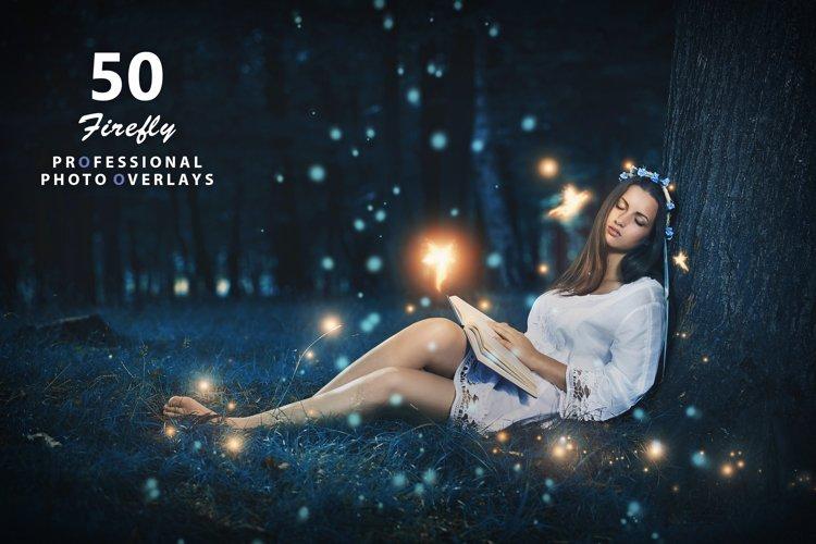 50 Firefly Photo Overlays example image 1