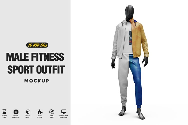 Male Sport Outfit Vol.2 example image 1