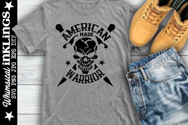 American Made Warrior SVG