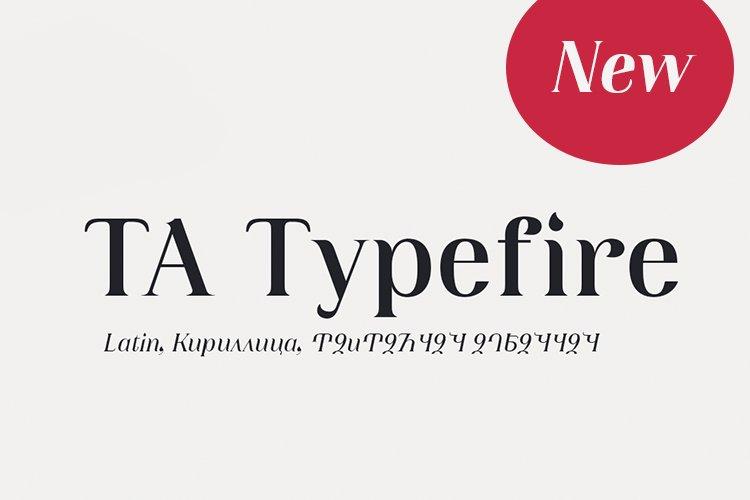 TA Typefire example image 1