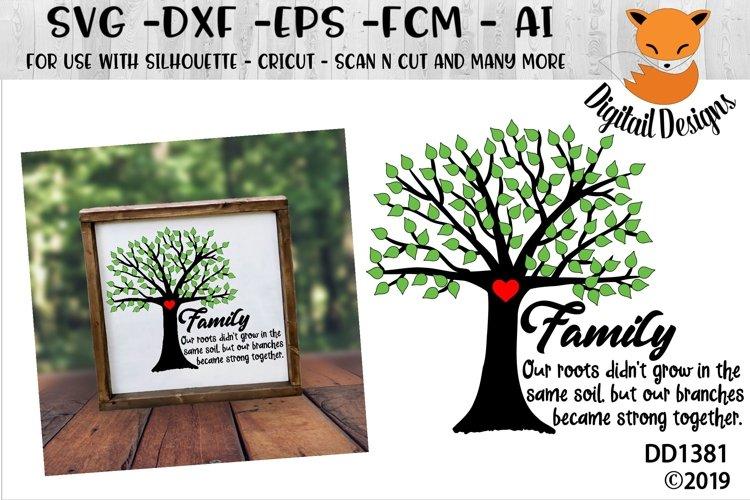 Adoption Family Tree SVG