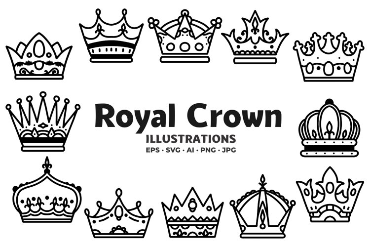 Royal Crown Illustrations