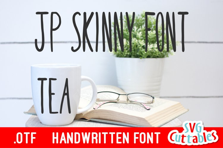 JP Skinny Font example image 1