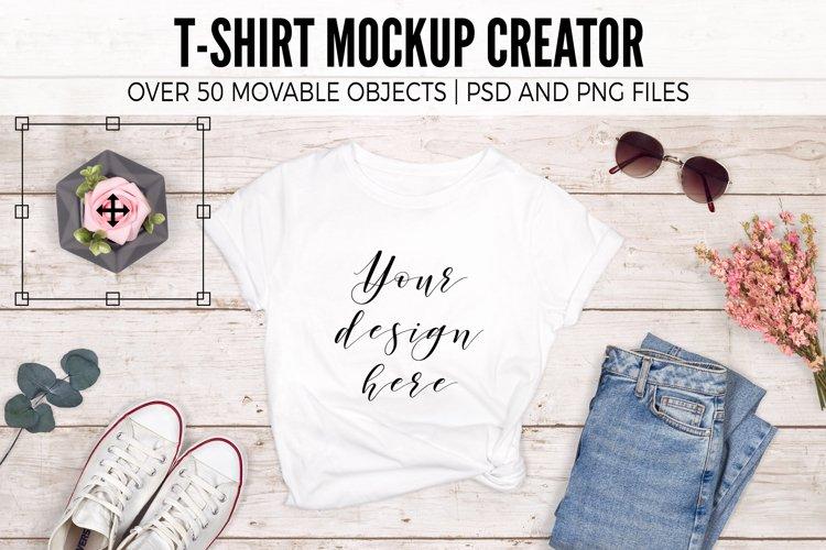 T-Shirt Mockup Creator