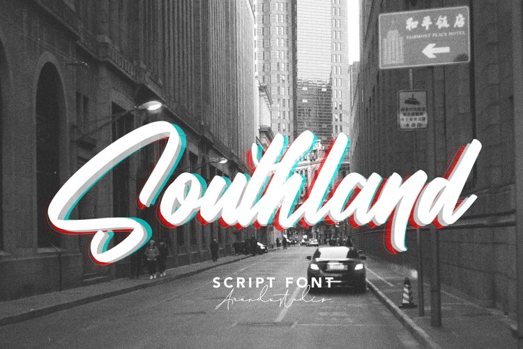 Southland - Script Font example image 1