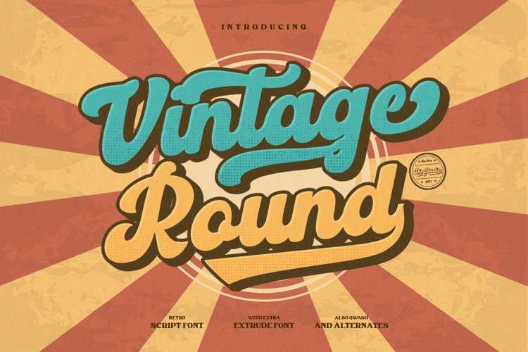 Vintage Round example image 1