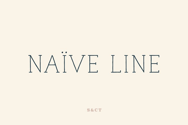 Naive Line Family example image 1