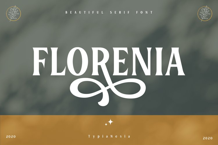 Florenia Display Serif example image 1