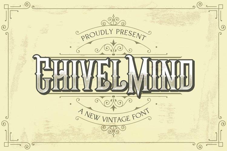 Chivel Mind - Vintage Font example image 1