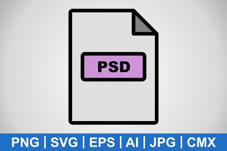 Vector PSD Icon example image 1