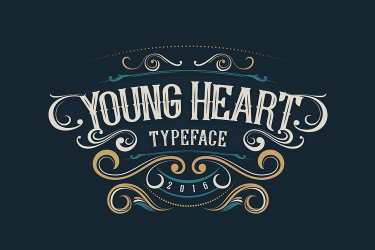Young Heart Typeface example image 1