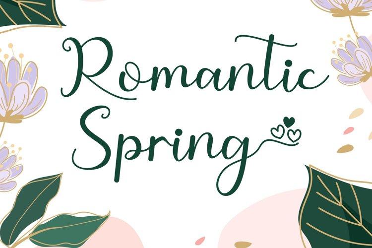 Romantic Spring example image 1