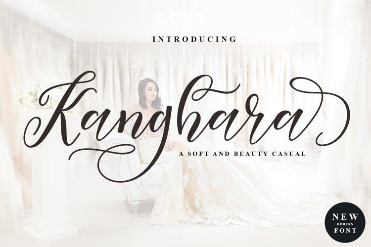 Kanghara Script example image 1
