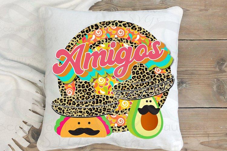 Sublimation funny Cinco de Mayo Taco png Amigos png Cheetah